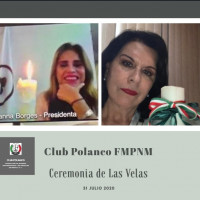 Ceremonia de las Velas del Club Polanco