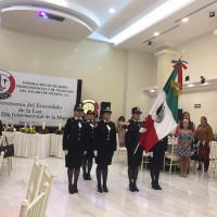 Ceremonia de Velas realizada por la Federación del Estado de México.