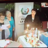 Solemne Ceremonia de las Velas del Club La Paz