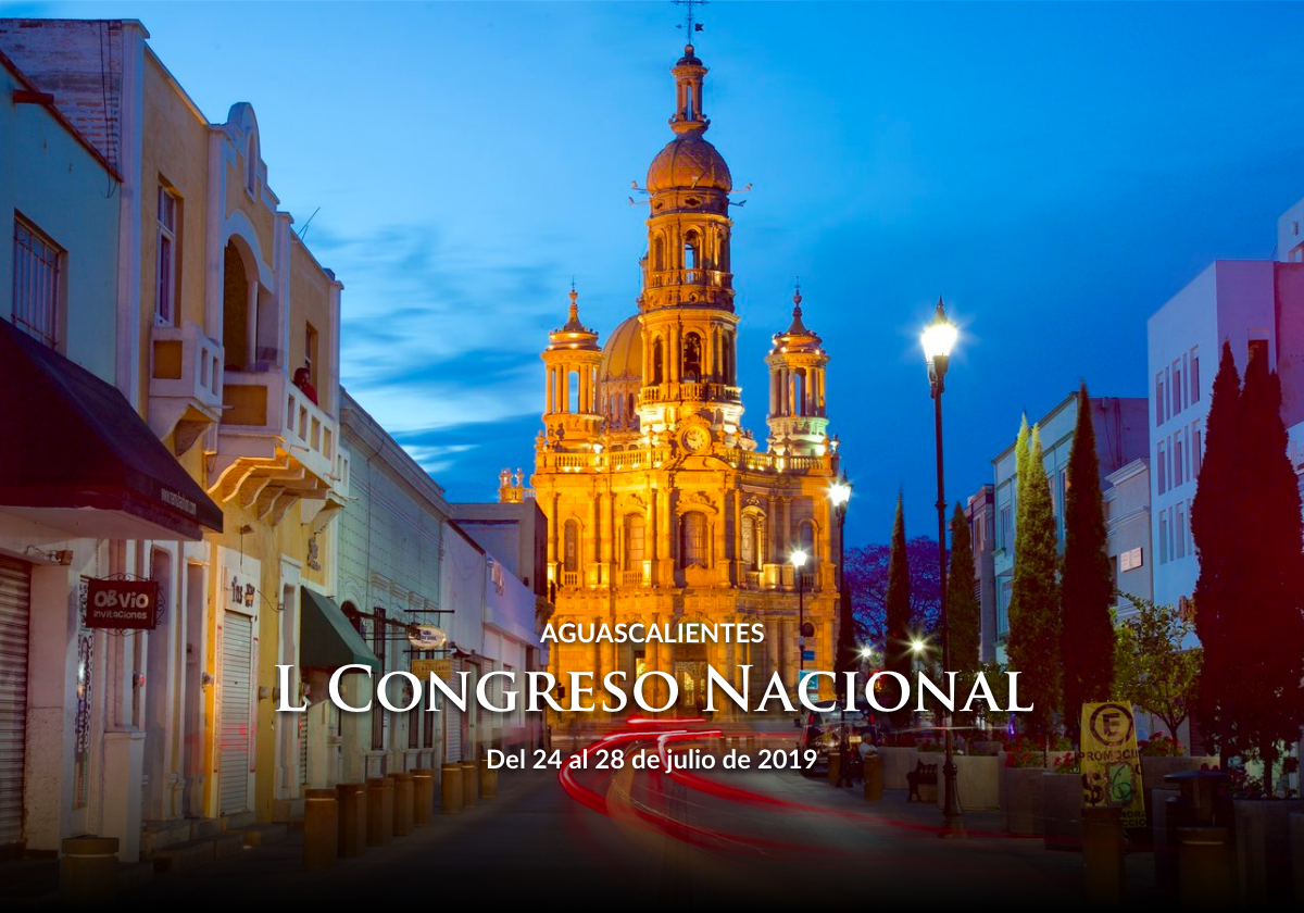 L Congreso Nacional Aguascalientes 2019
