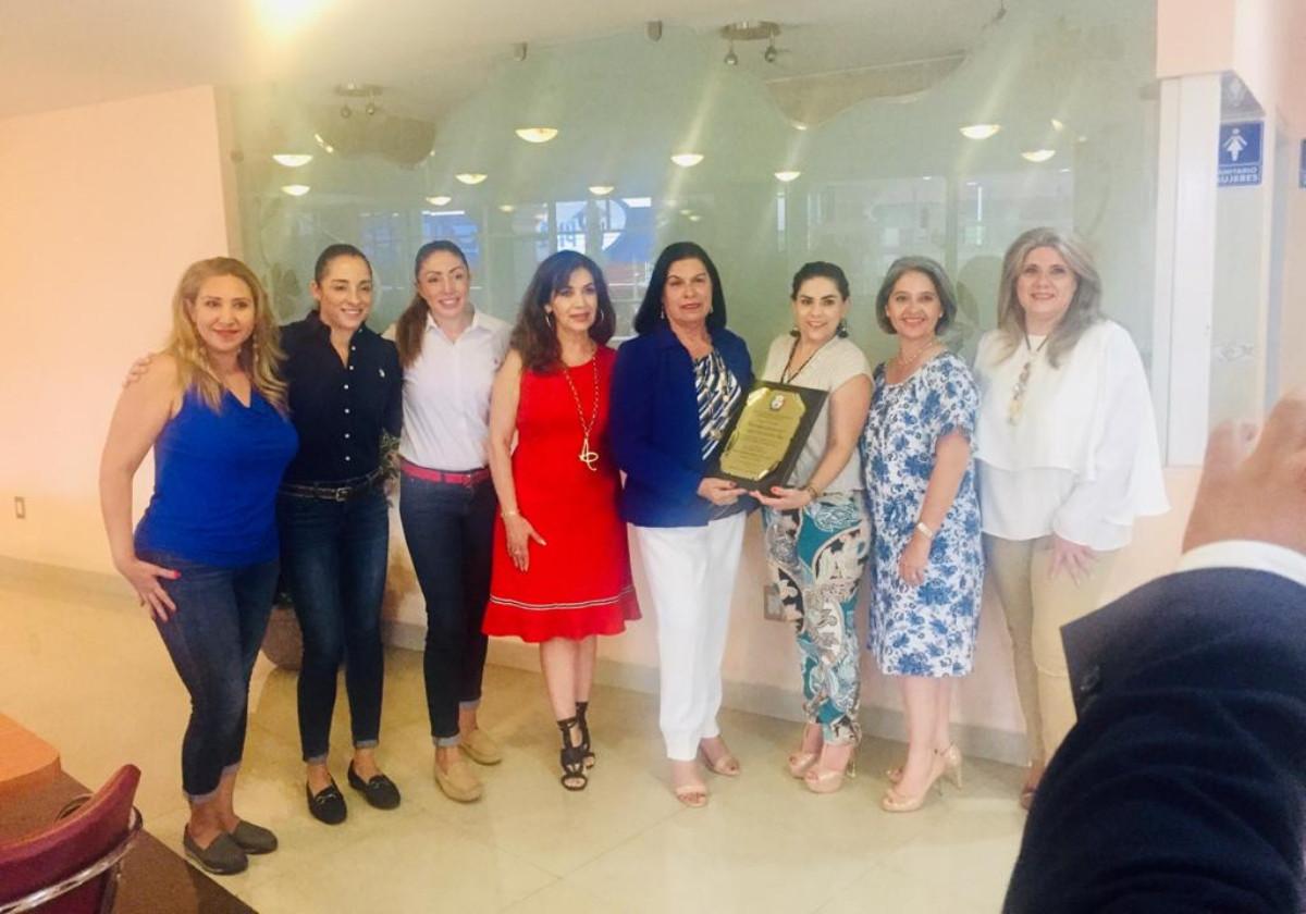 Reconocimiento a la Lic. Mayra Paola Martínez Reyes