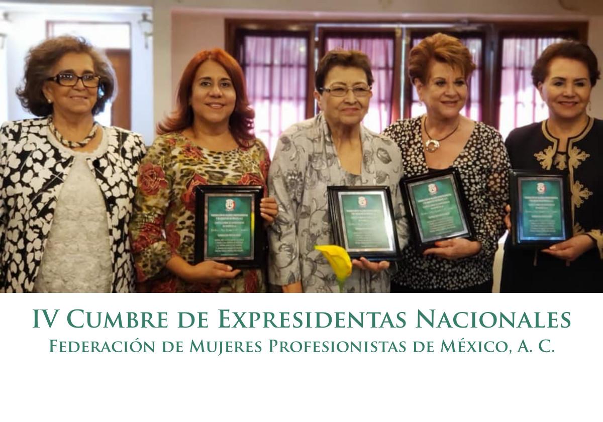 Con éxito se llevó a cabo la IV Cumbre de Expresidentas Nacionales