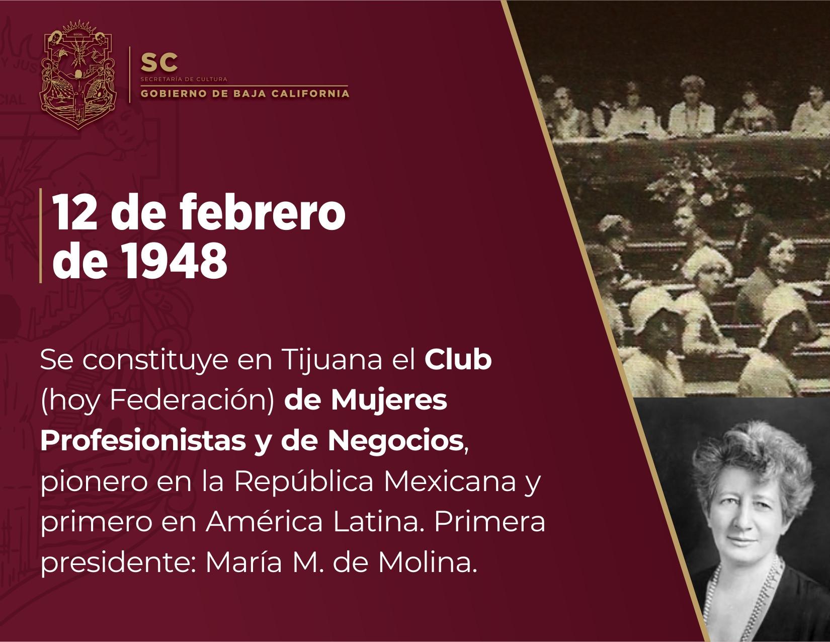 72 años de la fundación de la Asociación de Mujeres Profesionistas y de Negocios de Tijuana
