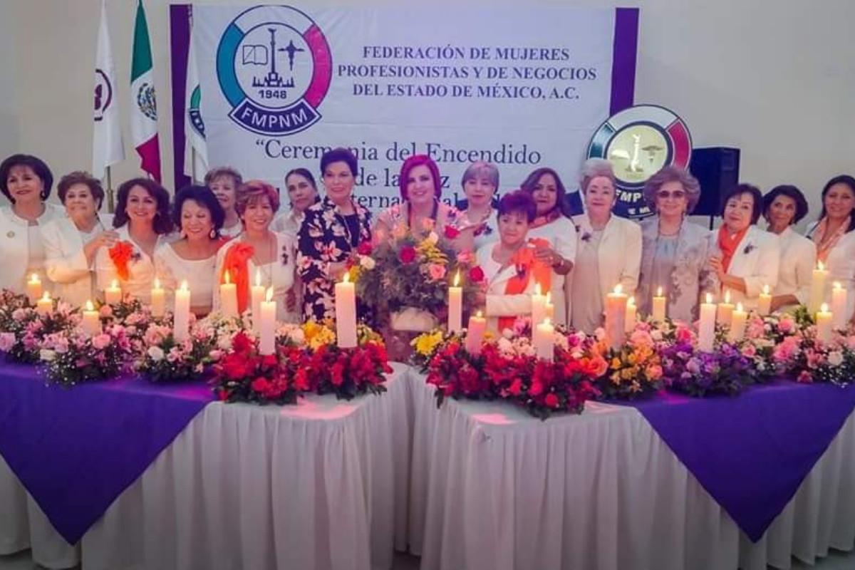 Ceremonia del Encendido de la Luz de la Fed. del Estado de México