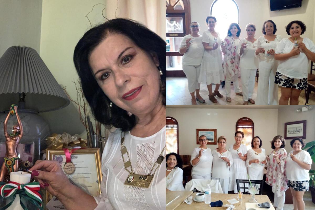 Ceremonia del Encendido de las Velas del Club de Cd. Juárez , Chihuahua