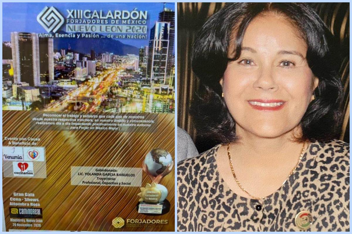 Reconocen la trayectoria de distinguida mujer profesionista y de negocios de Tijuana