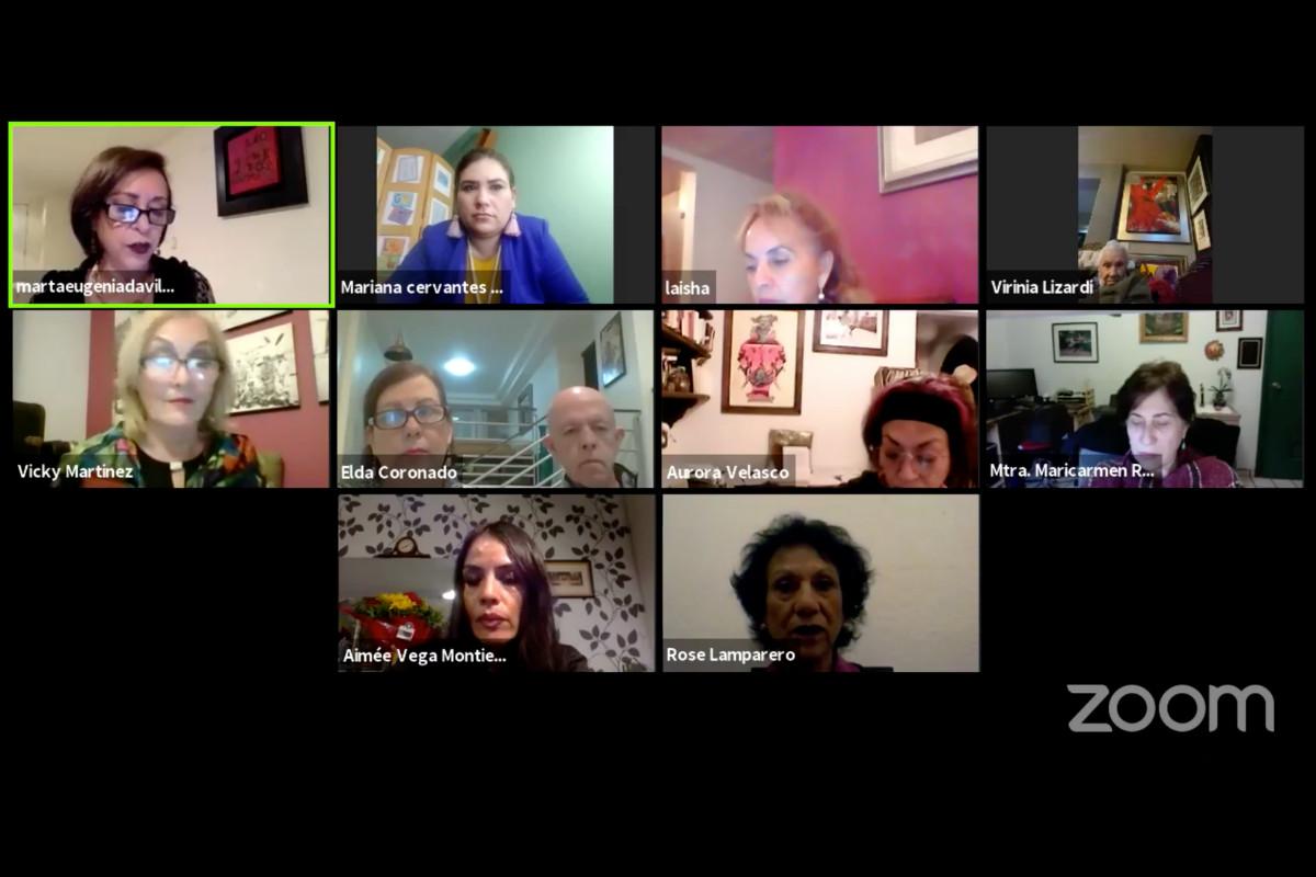 """Conferencia """"Violencia contra las mujeres en medios de comunicación y plataformas digitales"""" organizada por Club Ensenada"""