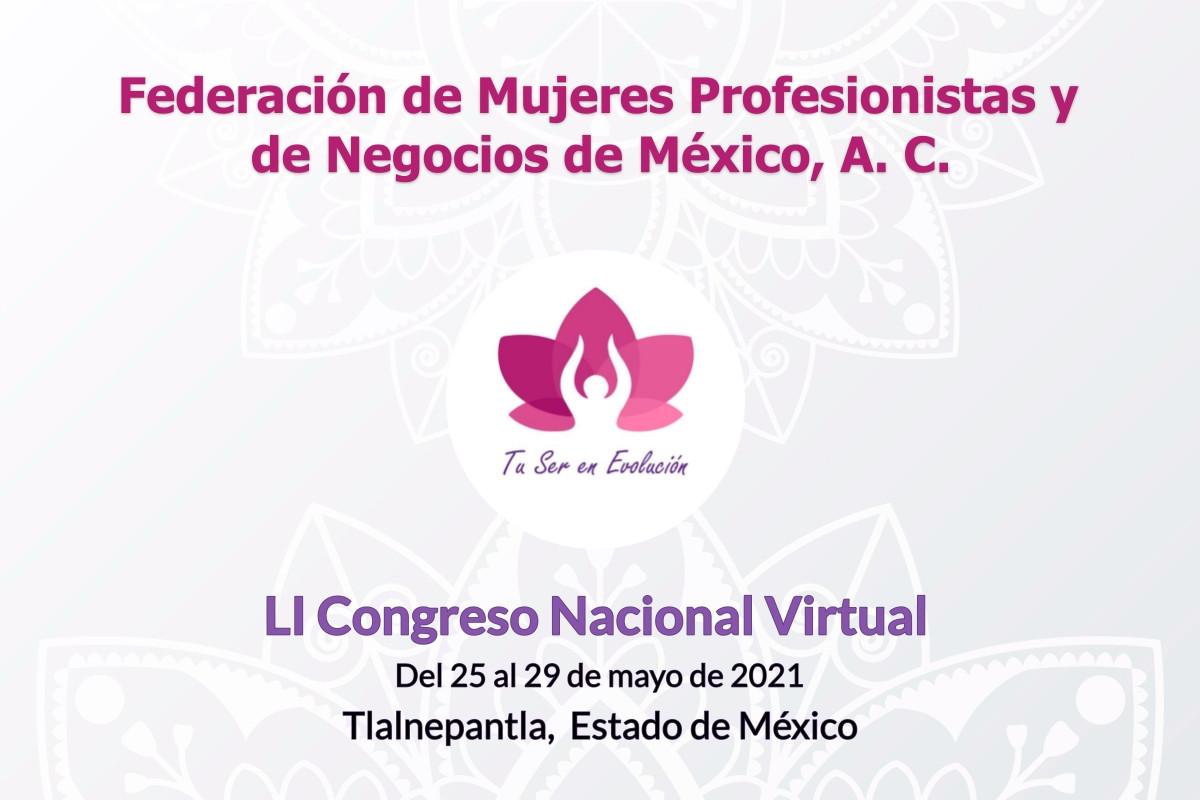 Participa en la Gran Inauguración del LI Congreso Nacional Virtual
